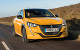 Peugeot 208 GT Line 2020 UK first drive review - hero front