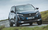Peugeot 5008 2020 UK First Drive review - hero front