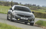 1 Peugeot 508 PSE 2021 UK first drive review hero front