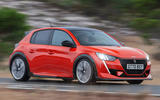 Peugeot e-208 GTi render 2020 - tracking side