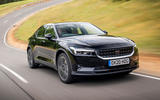 Polestar 2 2020 UK first drive review - hero front