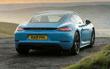 Porsche 718 - static rear