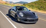 2019 Porsche 911 prototype first ride - hero front