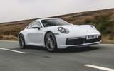 Porsche 911 2019 road test review - hero front