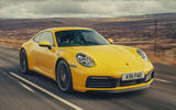Porsche 911 Carrera 4S 2019 UK first drive review - hero front