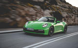 Porsche 911 Cabriolet 2019 first drive review - hero front