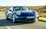 Porsche 911 Carrera S manual 2020 first drive review - hero front