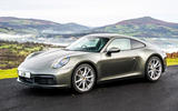 Porsche 911 Carrera - static front
