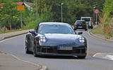 2020 Porsche 911 GT3 spotted testing front