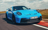1 Porsche 911 GT3 2021 UK first drive review hero front