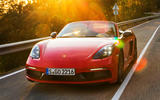 Porsche Boxster T 2019 first drive review - hero front