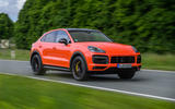 Porsche Cayenne Coupé 2019 first drive review - hero front