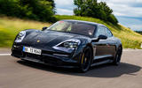 Porsche Taycan 2020 first drive review - hero front