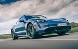 1 Porsche Taycan Cross Turismo 2021 LHD hero front