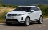 Range Rover Evoque 2019 official reveal - hero front