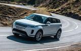 Range Rover Evoque - hero front