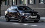 1 Renault Arkana 2021 UK FD hero front