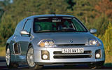 Renault Clio V6 - tracking front
