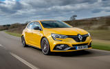 Renault Megane RS 300 Trophy 2019 UK first drive review - hero front