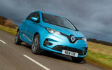 Renault Zoe 2020 UK first drive review - hero front