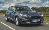 Seat Leon eHybrid FR 2020 UK first drive review - hero front