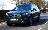 Seat Tarraco 2019 UK first drive review - hero front