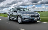 1 Skoda Octavia E Tec hybrid 2021 UK first drive review hero front