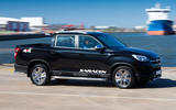 Ssangyong Musso Saracen 2018 first drive review hero front