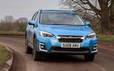 Subaru XV e-Boxer 2020 UK first drive review - hero front