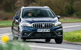 Suzuki SX4 S-Cross Hybrid 2020 UK first drive review - hero front