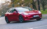 Tesla Model 3 Standard plus 2020 UK first drive review - hero front