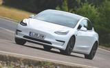 Tesla Model 3 Standard range Plus 2019 first drive review - hero front