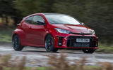 Toyota GR Yaris 2020 UK first drive review - hero front