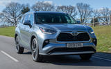 1 Toyota Highlander 2021 UK first drive review hero front