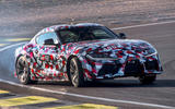 Toyota Supra 2019 prototype first drive review drift hero front