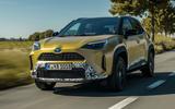 1 Toyota Yaris Cross 2021 UK LHD preprod drive hero front