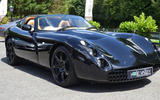 TVR Tuscan - stationary front