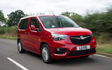 Vauxhall Combo Life 2018 UK first drive review hero front