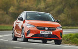 Vauxhall Corsa-e 2020 UK first drive review - hero front