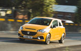 Vauxhall Corsa GSi 2018 UK first drive review hero front