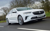 1 vauxhall insignia gsi 2021 uk first drive review hero front