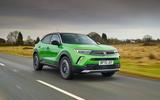 1 Vauxhall Mokka e 2021 UK first drive review hero front