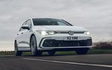 1 Volkswagen Golf GTD 2021 UK first drive review hero front