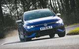 1 Volkswagen Golf R 2021 UK first drive review hero front