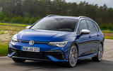 1 Volkswagen Golf R Estate 2021 first drive review hero front