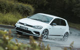 Volkswagen Golf R m52 2019 UK first drive review - hero front