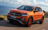 Volkswagen T-Cross 2019 first drive review - hero front