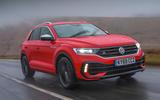 Volkswagen T-Roc R 2020 UK first drive review - hero front