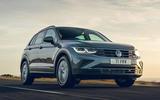 1 volkswagen tiguan life 2020 uk first drive review hero front