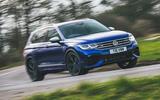 1 Volkswagen Tiguan R 2021 UK first drive review hero front